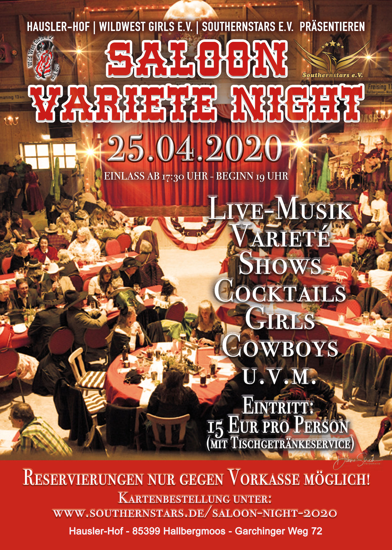 Saloon Varieté Night 2020