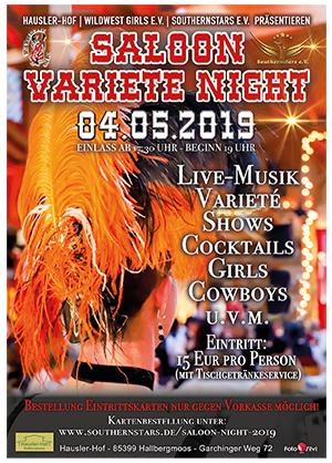 Saloon Varieté Night 2019