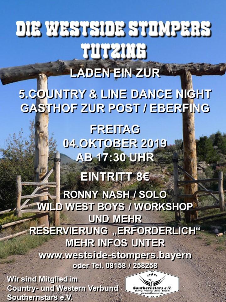 Country & Line Dance Night