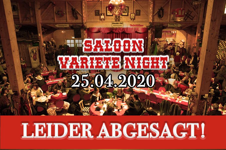 Saloon Varieté Night 2020 - ABGESAGT