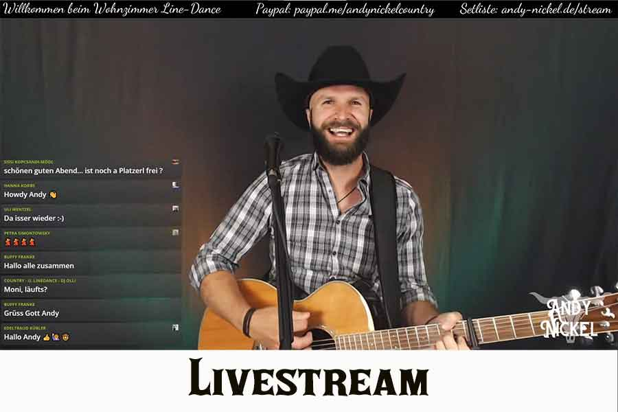 Andy Nickel Live-Stream