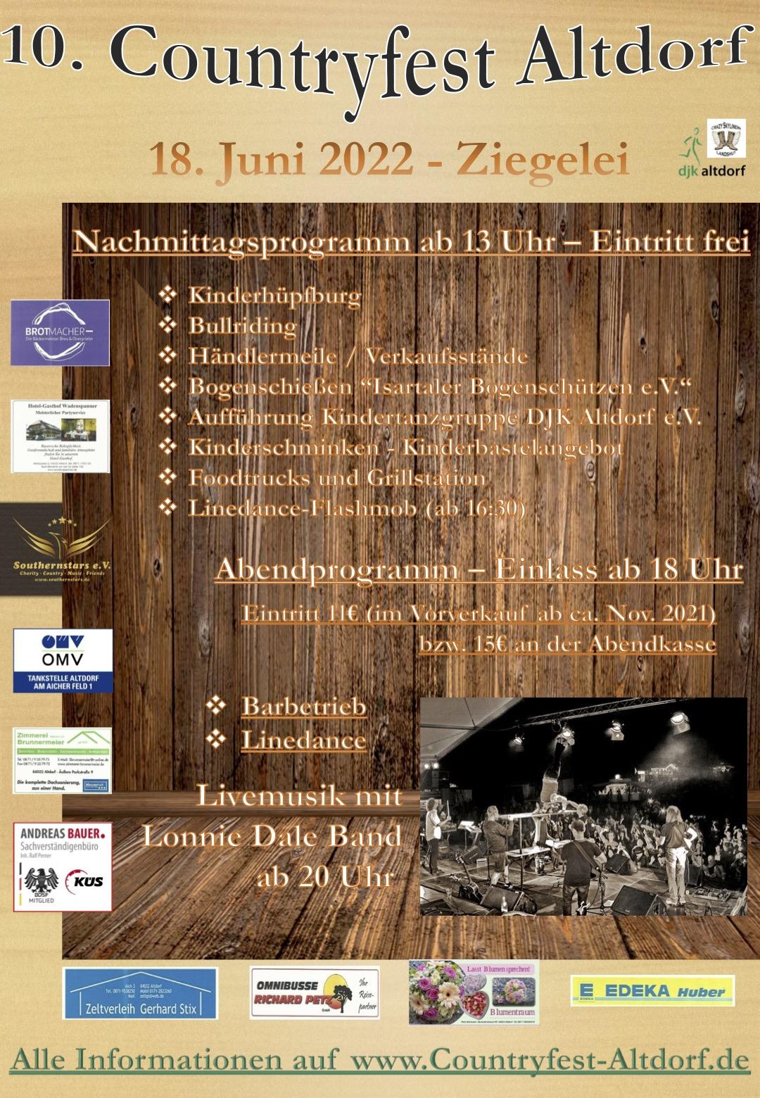 10. Countryfest Altdorf