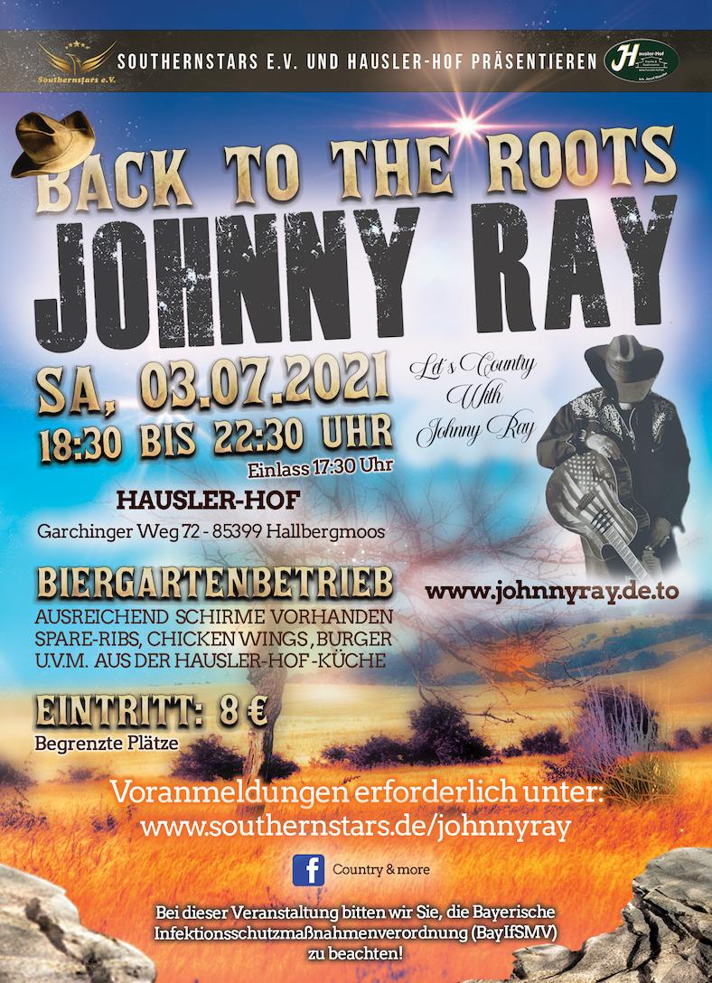 Johnny Ray 03.07.2021
